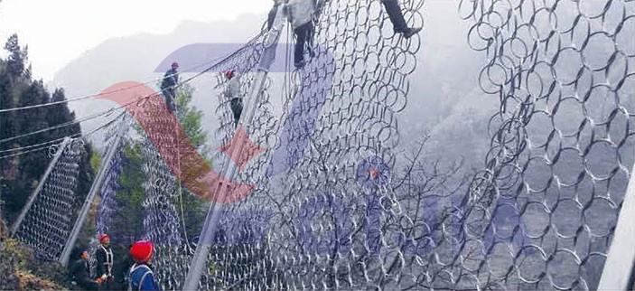 中铁十二局第三项目部张家口尚义县小蒜沟镇张集铁路隧道边坡防护