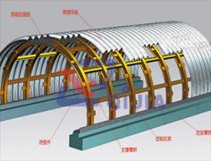 钢架加强型拱涵